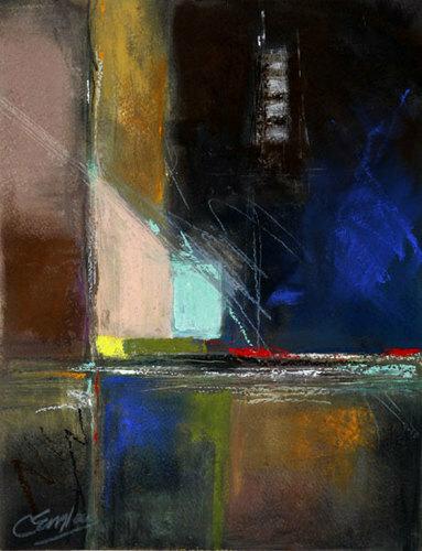 Midnight Lights by Carol Engles Art