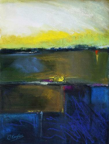Twilight Blues by Carol Engles Art