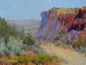 Road to John Dunn Bridge, Arroyo Hondo, New Mexico (thumbnail)