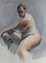 Seated figure #2 (thumbnail)