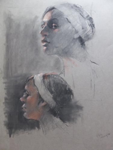 Double head study