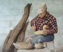 The Wood Duck Carver (thumbnail)
