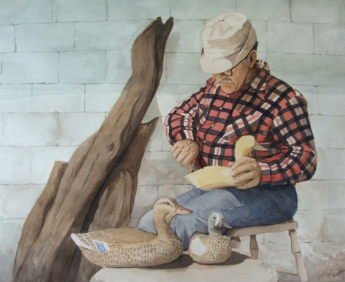 The Wood Duck Carver
