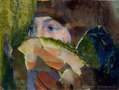 Mystery Girl by Carolyn M. Abrams Art