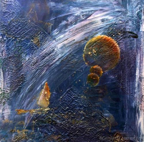 Peace in the Wandering by Carolyn M. Abrams Art