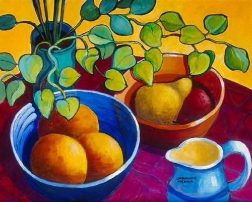 11. Eucalyptus, Oranges & Pear