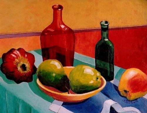 16. Glass & Fruit II
