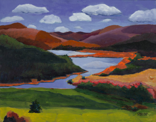 12 - Orange Mountains