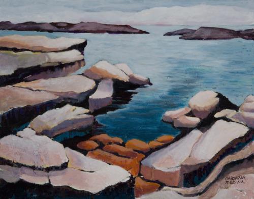 14 - Rockscape: Maine