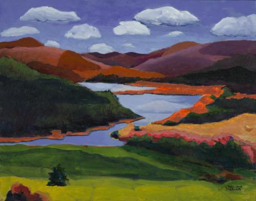 24. Orange Mountains