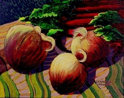7 - Onions and Rhubarb