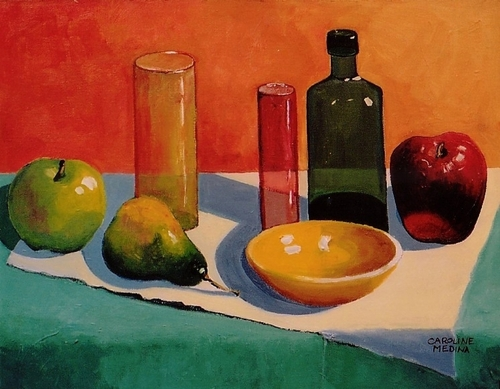 12 - Glass and Fruit I