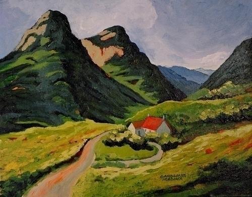 3 - Mountain Pass, Scotland