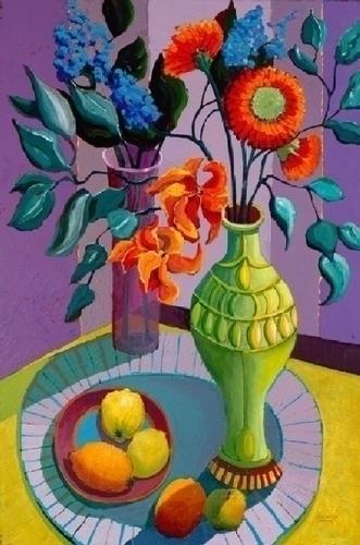 3 - Green Vase