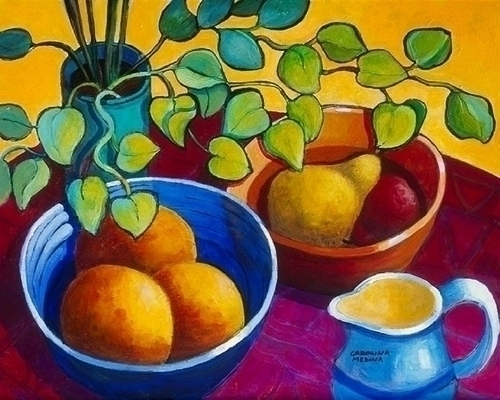 8 - Eucalyptus, Oranges and Pears