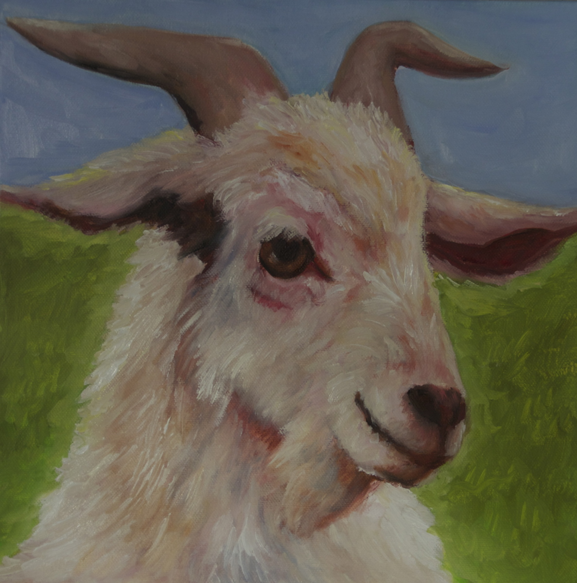 """Happy Goat"" (large view)"