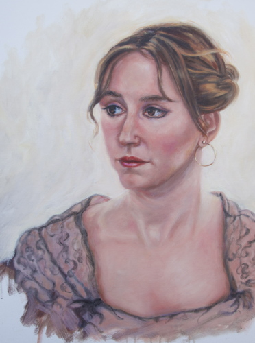 """Laura"" by Medhurst Paintings"