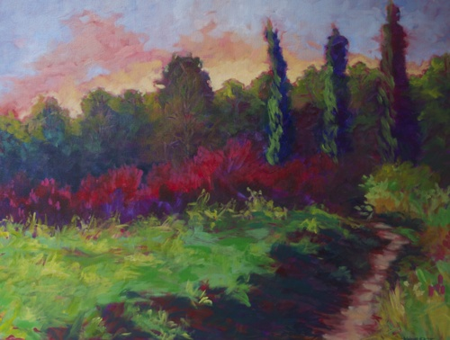 Fields of France by Medhurst Paintings