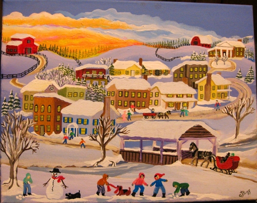 Winter Village #3