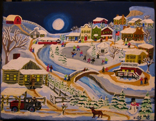 Winter Village 6