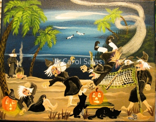 """Witches at the Beach """"Occupational Hazard"""""""