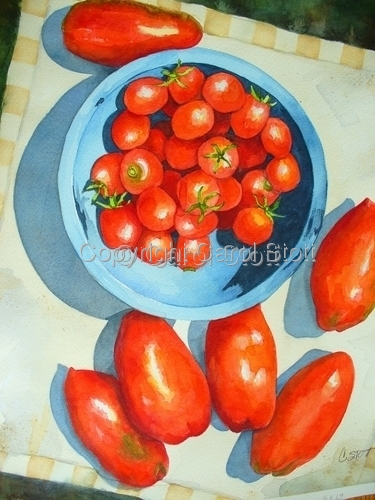 Tomatoes in the Bowl (large view)