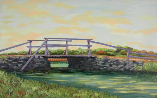 Bridge in Marsh Meadows