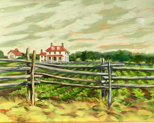 Corey Farmhouse, Jamestown 1883