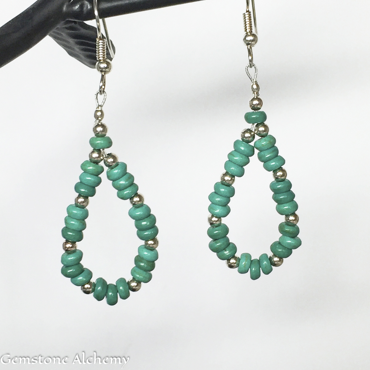 Turquoise Unity Earrings Reg $33 Sale $22 (large view)