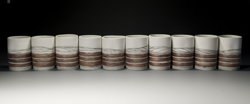 Plowed fields: A Landscape in cups