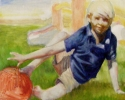 Boy with Red Ball (thumbnail)