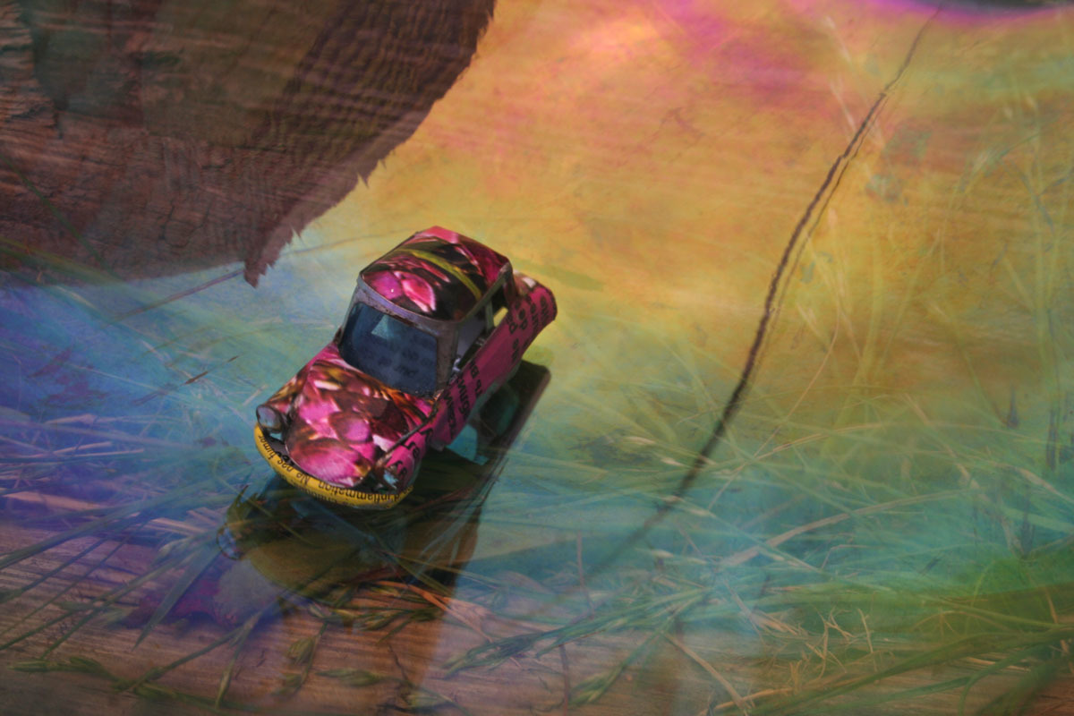 Pink Car (large view)