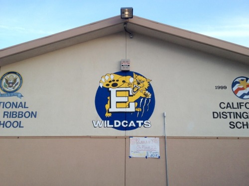 Eich Middle School Wildcat Mural
