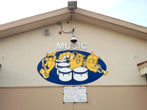 Eich Middle School Music Mural