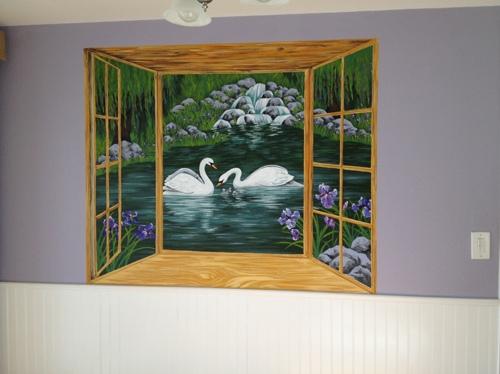 Swan Lake Mural