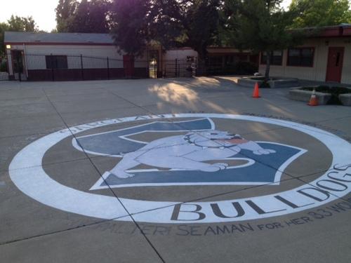 Sargeant Bulldog Mural