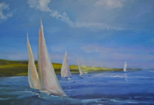 Sailing School by CATHERINE CAULFIELD RUSSELL