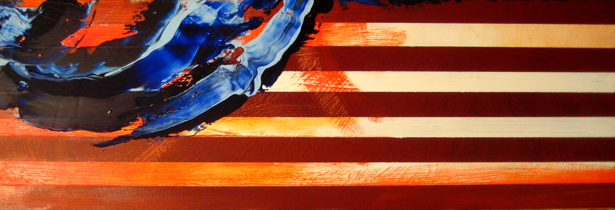 """Memorial Day Flag 2016 -- """"Freedom Is Never Free"""" (large view)"""
