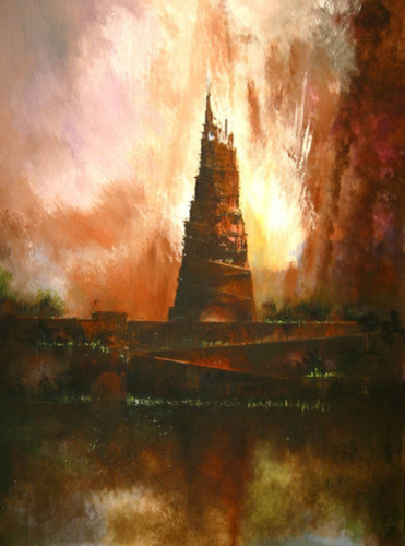 Tower Of Babel by Charles Jos Biviano