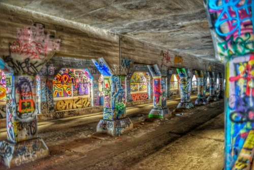 Krog Street Tunnel Atlanta Georgia