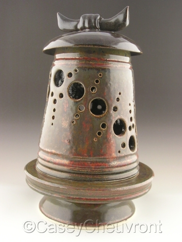 Candle Lantern with Pedestal