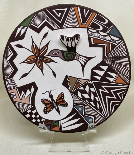 3-Dimensional Hummingbird and Butterfly Plate
