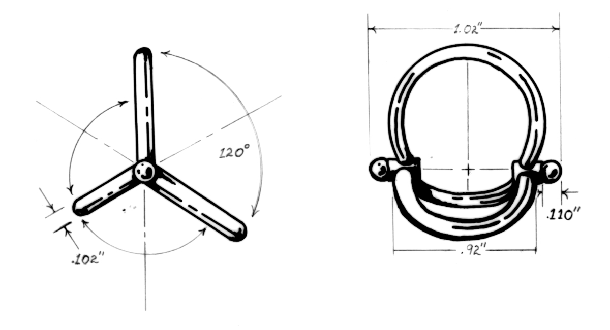 static Adjuster Ring Drawing (large view)