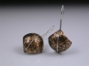 Jewelry-Domed Square Earrings