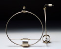 Jewelry--Misc Materials-EarringsCable Drum Earrings