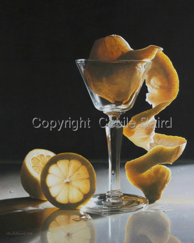 Twisted Lemon by  Cecile Baird