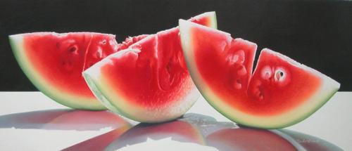 Watermelon Trio by  Cecile Baird