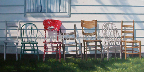 Take a Seat by  Cecile Baird
