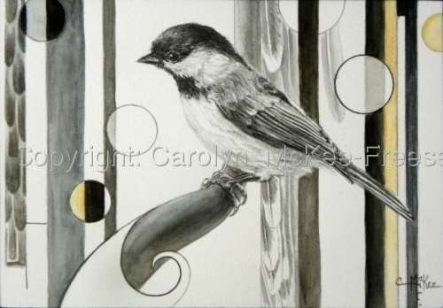 Chickadee by Carolyn  McKee-Freese