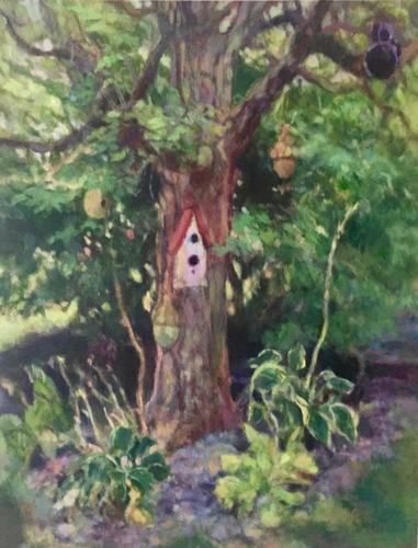 """The Birdhouse Tree"""